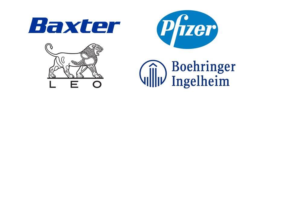 L'APHL remercie Baxter, Boheringer Hingelheim, LeoPharma et Pfizer pour leur soutien